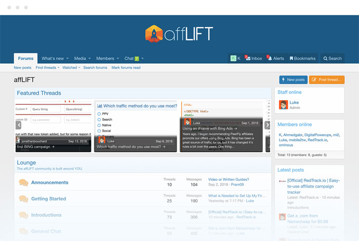 affLIFT affiliate forum home