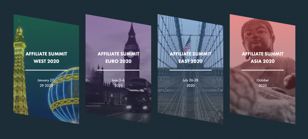 Affiliate Summit Conferences (West, East, Euro, and Asia)