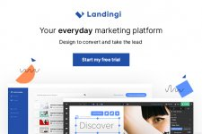Landingi – Intuitive Landing Page Builder for Non-Programmers