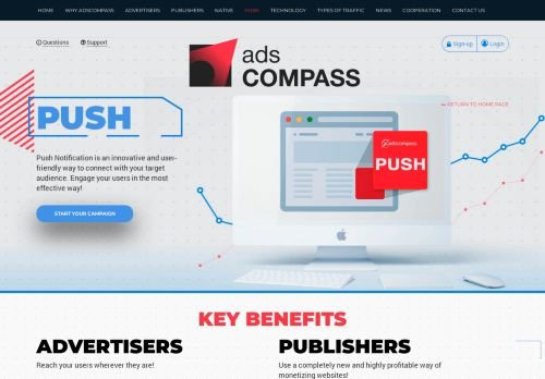 AdsCompass Push