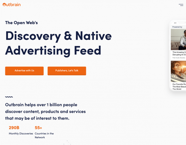 Outbrain -Performance-Based Native Advertising Platform