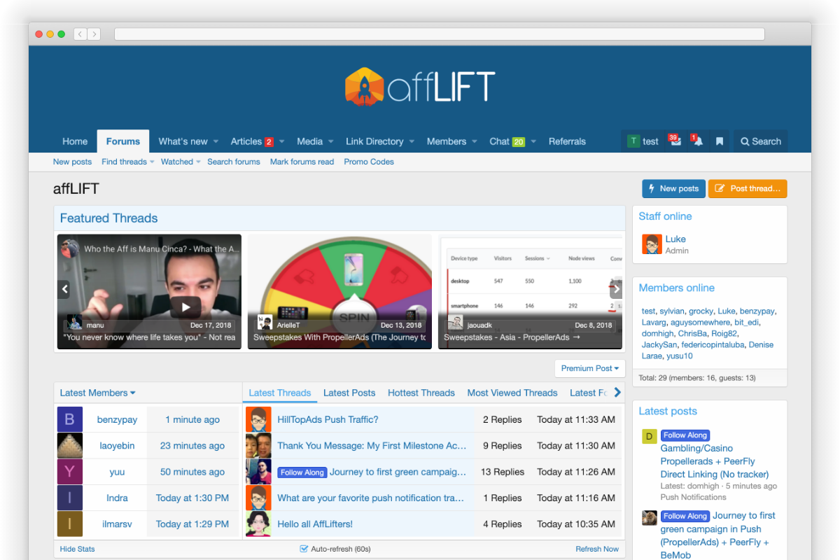 A community to give your affiliate marketing a LIFT